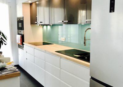 crédence cuisine verre laquée vitrier paris